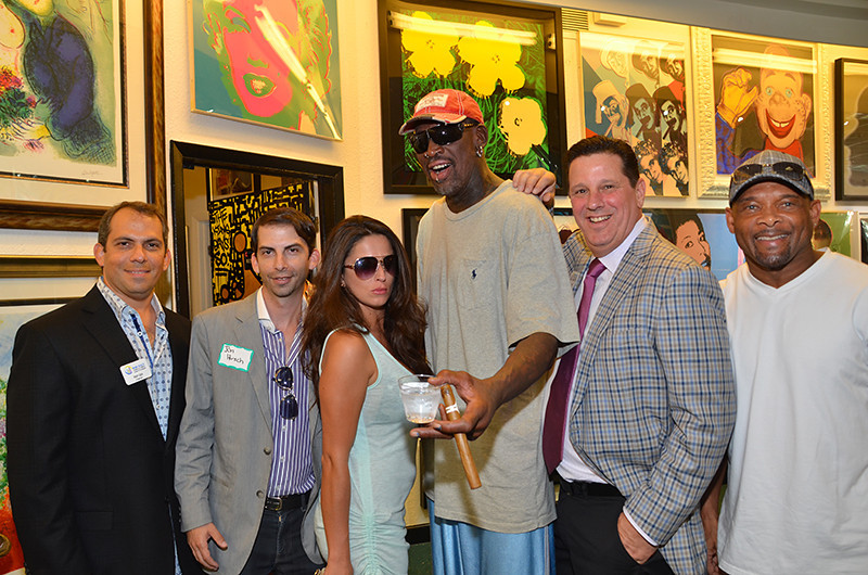 Dennis Rodman Aventura Florida