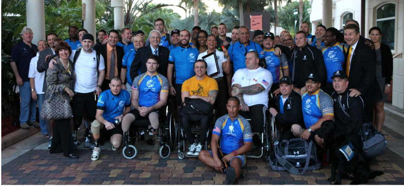 AT. Wounded Warriors. 2013