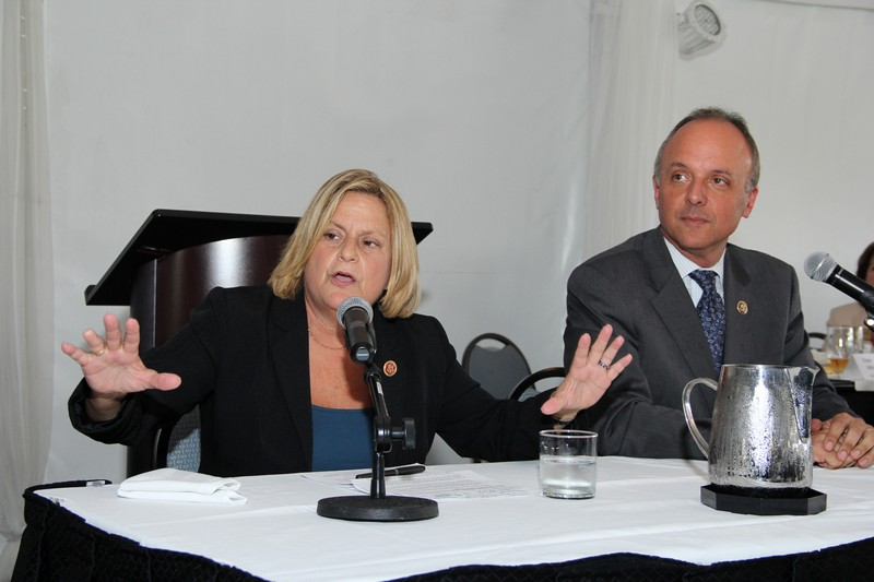 Cong. Ileana Ros-Lehtinen and Cong. Ted Deutch