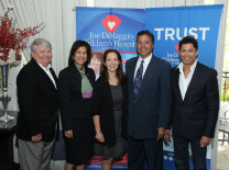AMC Chairman Gary Pyott, FirstService Residential; Chantal Leconte, Joe DiMaggio Children's Hospital; Karen Dresbach, Nat'l Multiple Sclerosis Society; Ray Negron, New York Yankees; Rick Sostre, Producer