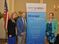 Maggie Wiegandt, Dr. Hugo Fernandez and Abby Castillo, Memorial Healthcare System