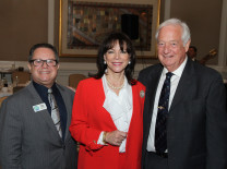 Russel Lazega, Florida Advocates; State Attorney Katherine Fernandez Rundle; John Campell, The Centurion Foundation